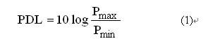 影响偏振相关损耗(PDL)测量的重要因素