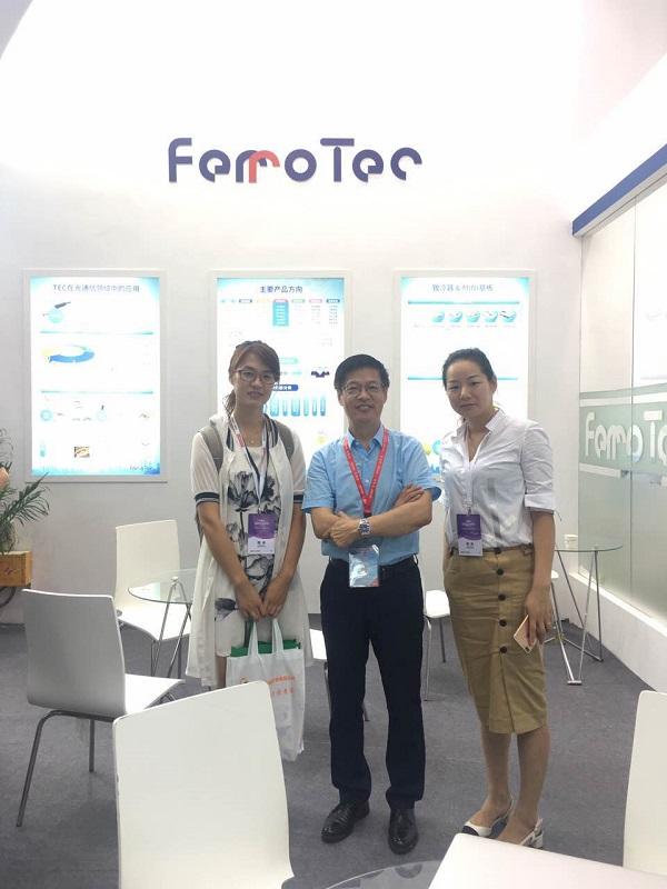 【CIOE专访】Ferrotec:高性能低功耗、热解决方案TEC市场份额高达55%