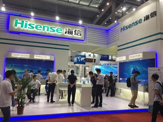 【CIOE2017专访】海信宽带:25G DFB已出样品 器件厂商制胜关键在垂直集成能力