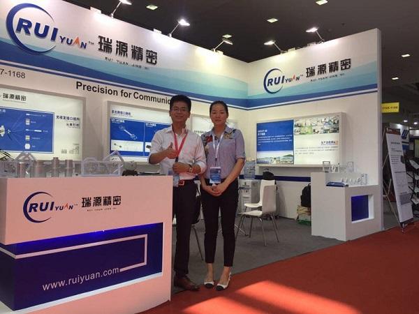 【CIOE采访】瑞源精密横向整合推MT-跳线新品 一站式服务赢市场