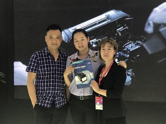 【CIOE2017】藤友通信民族品牌V9系列熔接机再绽光彩