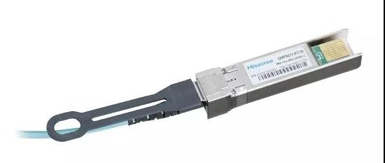 海信宽带业内首发100G SFP-DD AOC 产品
