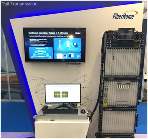 烽火科技在法国尼斯发布首款1.2T光传输新产品