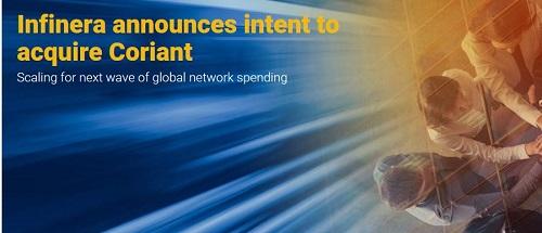 Infinera并购Coriant打造光网络新势力