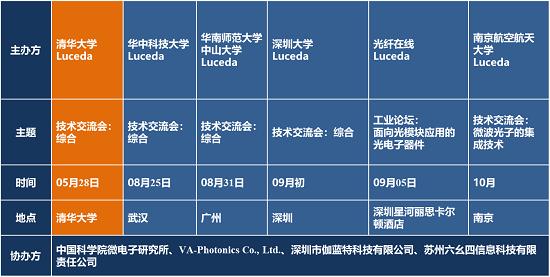 """IOE""""集成光电子技术交流会""""系列活动预告"""