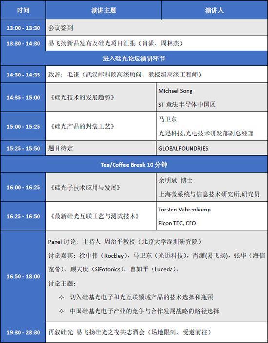 """【倒计时8天】第二届硅基光电子暨光互连技术论坛""""-附最新议程"""