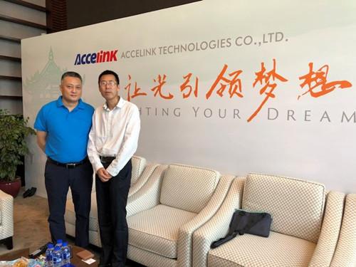 CIOE2018专访光迅科技营销副总贺庆:光迅的实力是如何铸就的