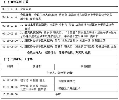 浦东新区邀您26日来张江共话长三角光通信产业融合发展