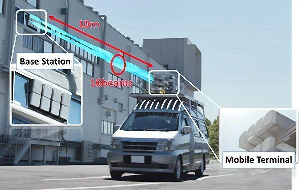NTT DoCoMo宣布实现27Gbps的5G户外传输试验