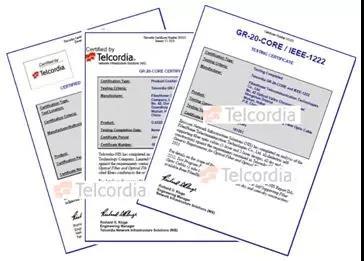 烽火光缆产品再获Telcordia认证