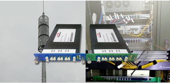 易飞扬5G OMUX顺利通过华为5G前传设备对接测试