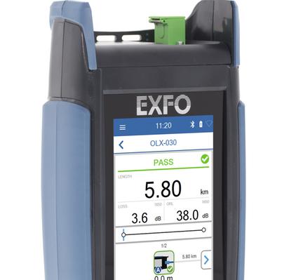 EXFO 面向现场测试发布革命性光纤多用表