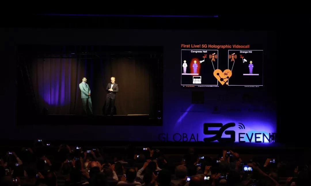 中兴通讯联合Orange展示5G全息投影视频通话