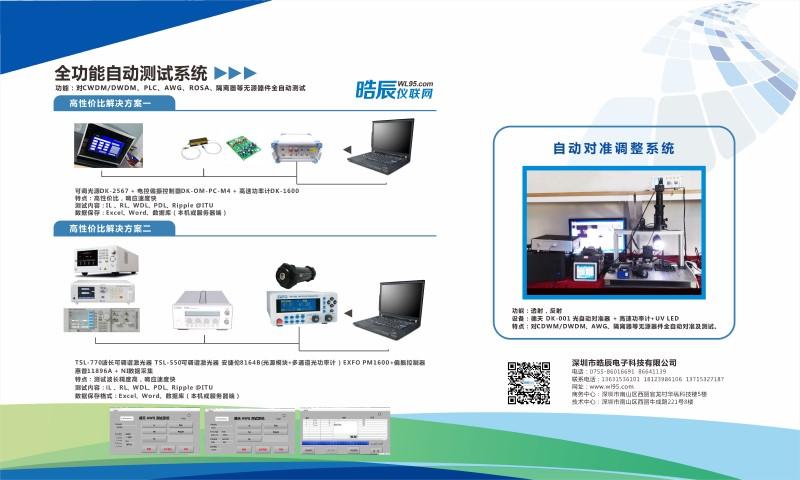 聚焦清远 | 晧辰仪联网CFCF2019展示全功能自动测试和对准系统