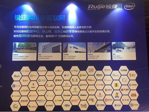 锐捷网络100G/400G新品发布 高等数据中心成互联网企业核心战略资源