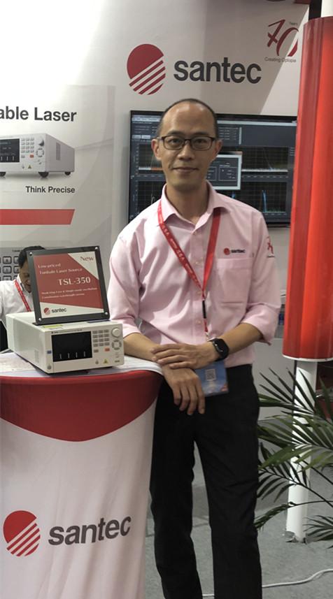 CIOE 2019 专访上海圣德科,40年专注于可调激光器市场