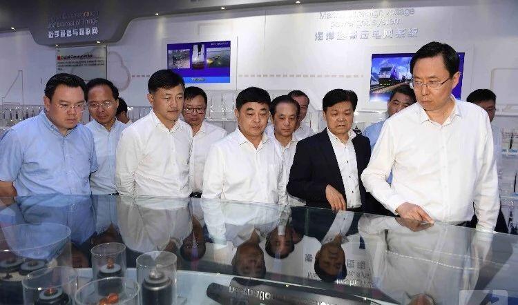 江苏省委常委、苏州市委书记蓝绍敏调研亨通集团