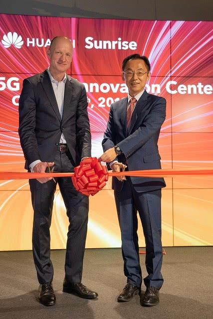 瑞士运营商Sunrise携手华为成立欧洲首家5G联合创新中心