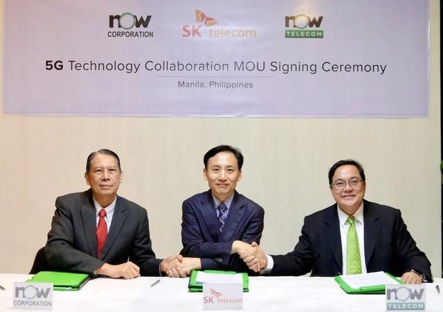 韩国运营商SK将帮助菲律宾建设5G网络