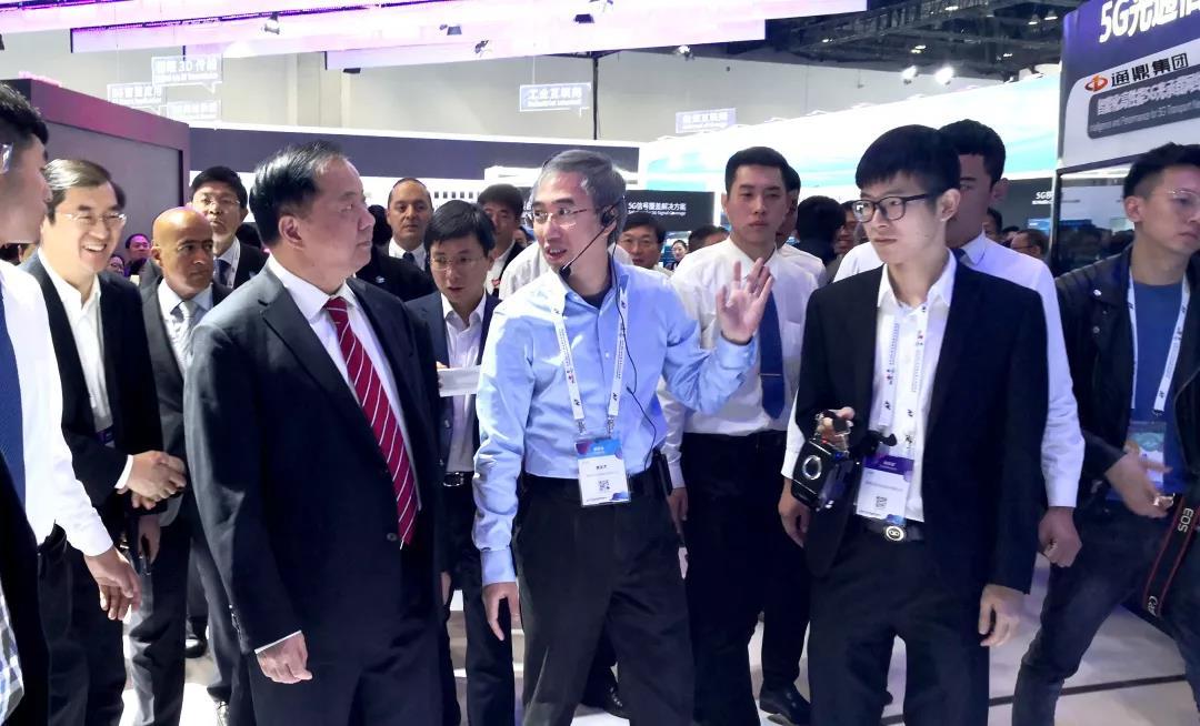 通鼎集团精彩亮相中国信息通信展览会
