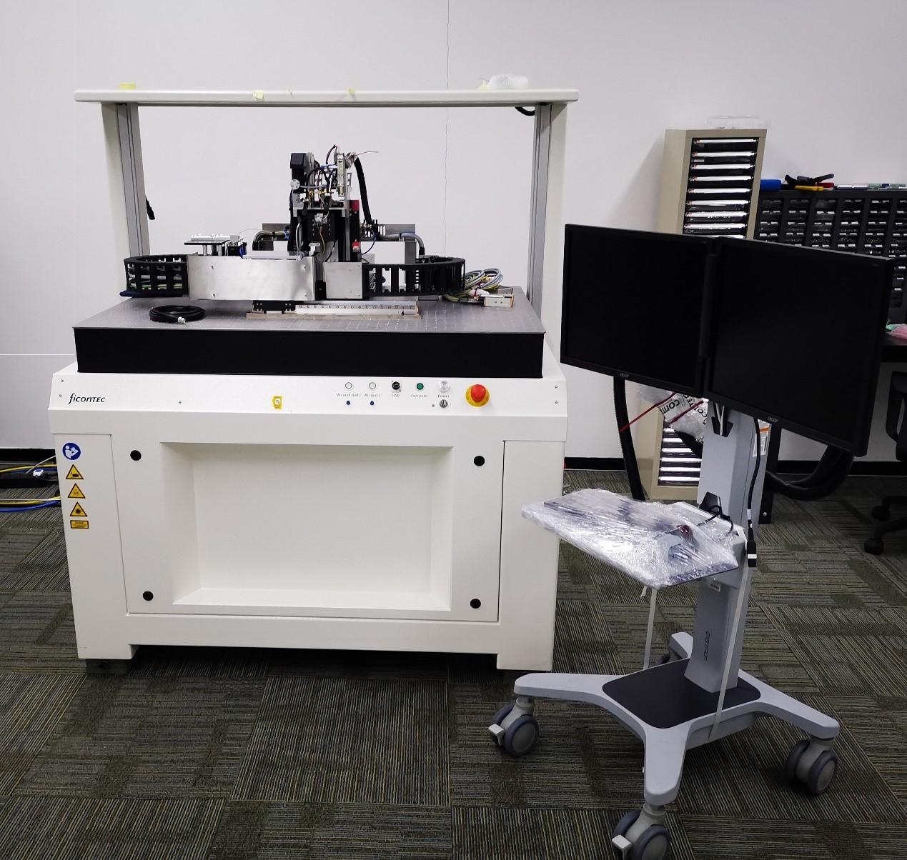 ficonTEC A800高速低成本自动耦合设备面世