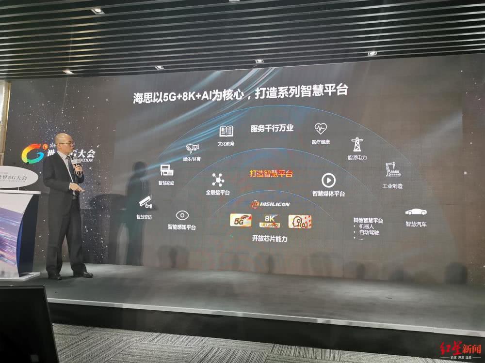 海思副总裁:5G芯片已向产业开放,合作伙伴产品将上市