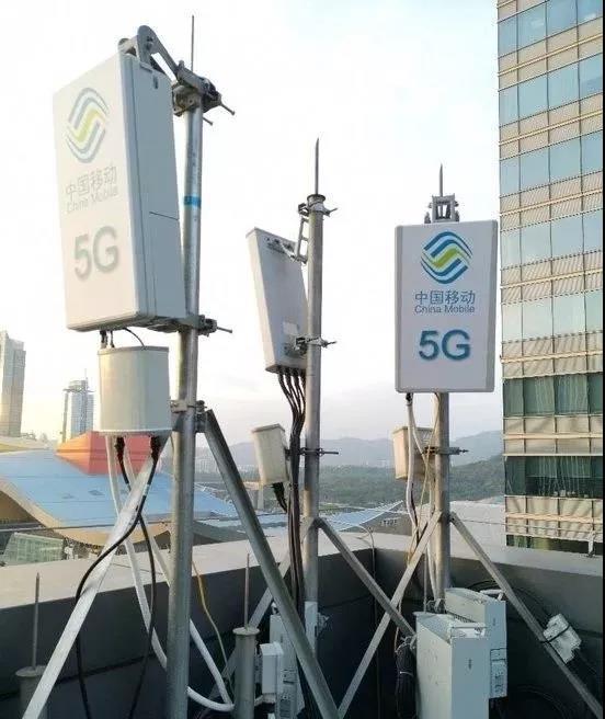 2019年中国移动已开通5G基站超过5万个