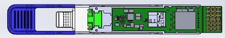 博创科技推出业界领先400G QSFP-DD DR4数据通信硅光模块