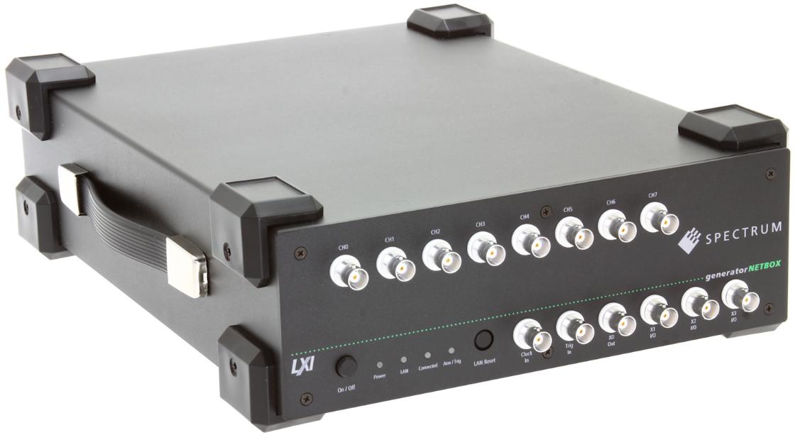 Spectrum新增四款基于LXI的任意波形发生器生成高振幅信号