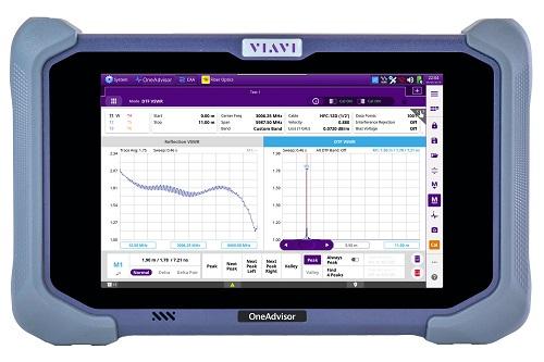 VIAVI模块化测试平台OneAdvisor简化并加快5G网络安装