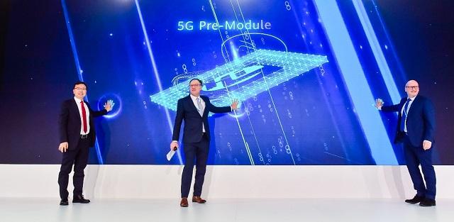 华为联合伙伴发布系列5G模组 海思供中间件