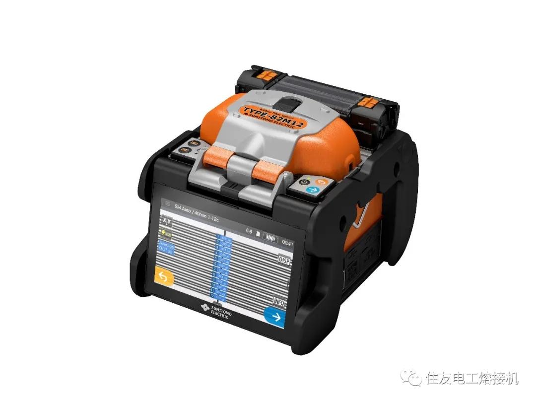 住友电工推出新一代带状光纤熔接机 TYPE-82M12