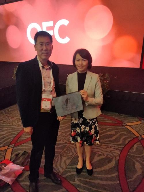 OFC2020:专访OFC大会项目主席魏君珊博士