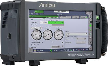 安立在OFC在线展会展示便携式400G测试仪MT1040A