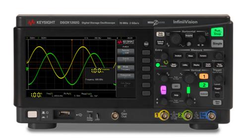是德发布四款全新入门级200MHz双通道示波器