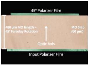 SRICO开发新型可集成波导型光隔离器