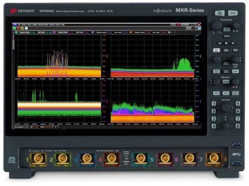 从是德全新Infiniium MXR系列示波器看测试仪表发展方向