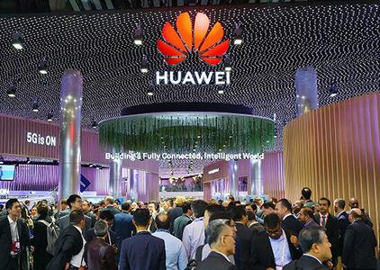 华为已在国内建成20万5G基站,预计年底可达到80万