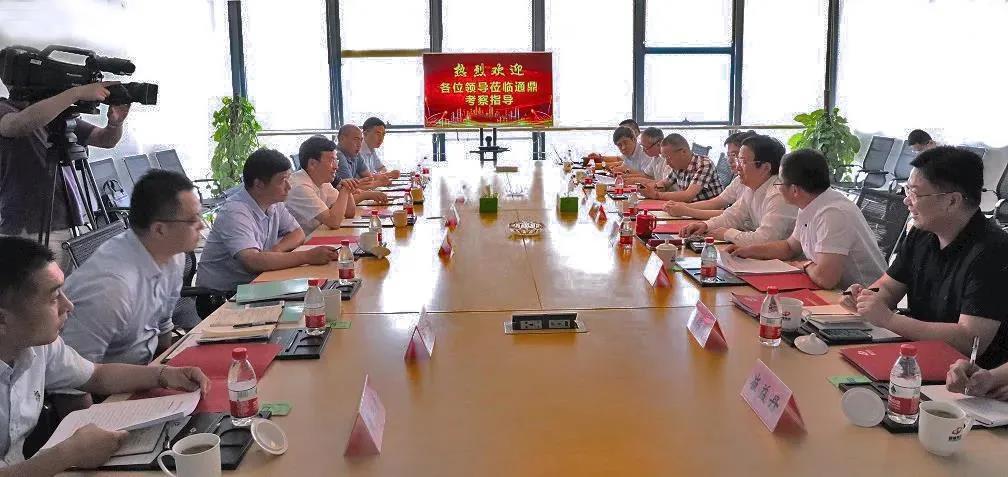 苏州市委常委、统战部部长姚林荣一行调研通鼎集团