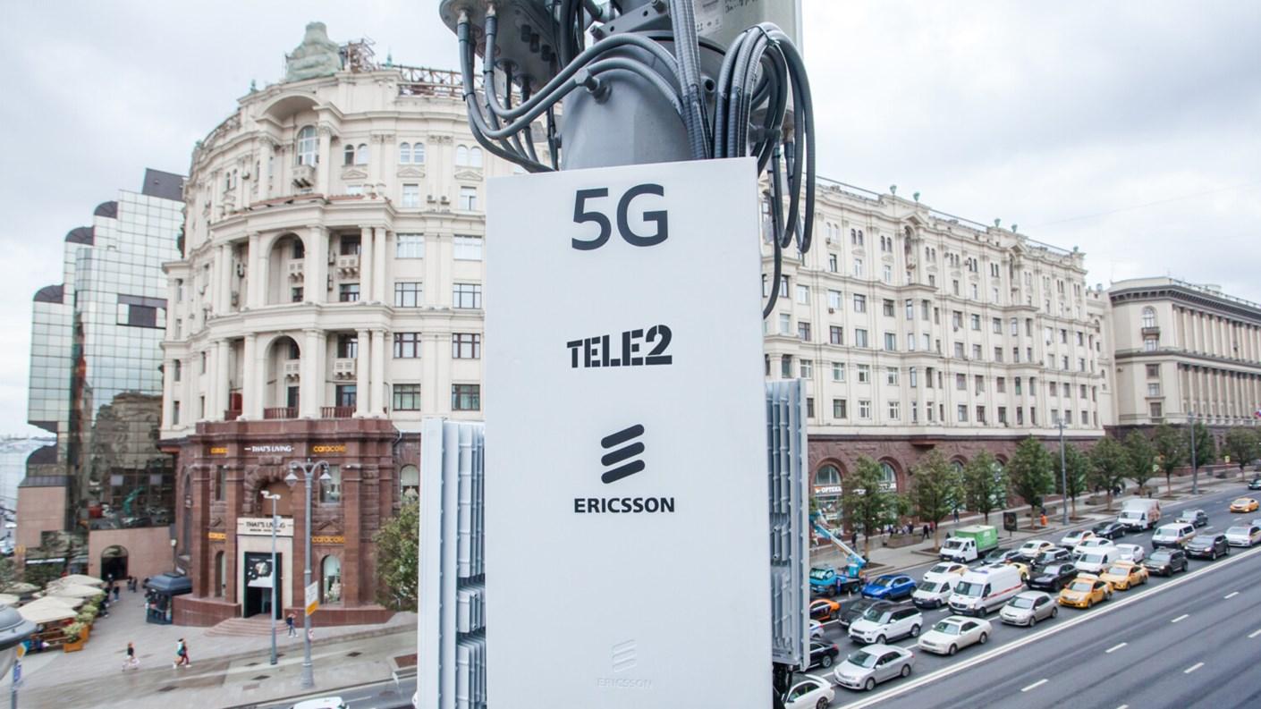 爱立信已为Tele2在俄罗斯部署了2.5万个5G-ready基站