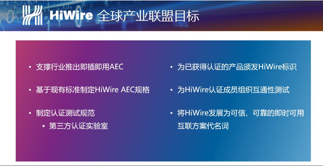 海信,博创,天弘等多成员加入HiWire联盟 完善400G生态系统