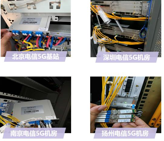 迅特通信成功开通LWDM产品5G前传商用网络