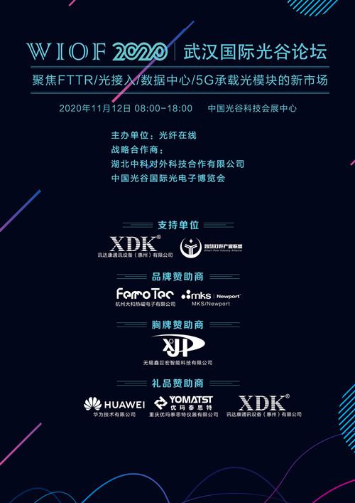【11月12日】第六届武汉国际光谷论坛倒计时4天,欢迎业界同仁准时与会